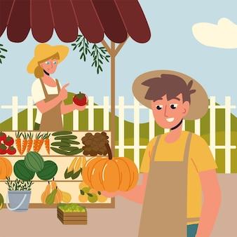 Rolnicy z rynkiem ekologicznym
