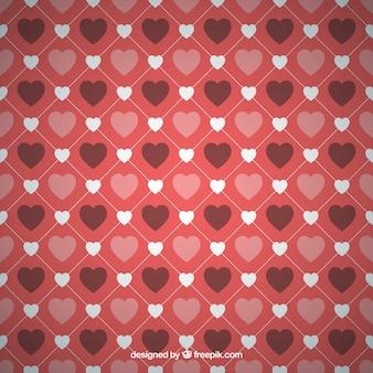 Romantyczny serca w tle
