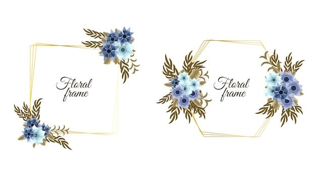 Romantyczny wieniec z cytatem tekstowym szablon karty miejsce kwiaty zaproszenie