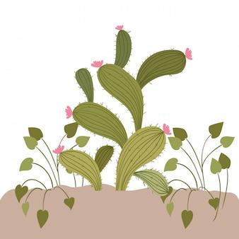 Roślina w krajobrazie odizolowywającym