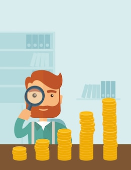 Rosnący biznes w aspektach finansowych.