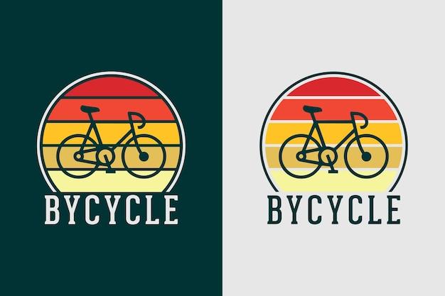 Rower cytat slogan vintage stary styl rowerowy projekt koszulki rowerowej