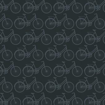 Rowerowy sport wzór tła