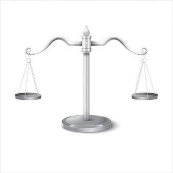 Równowaga skaluje gradientową ilustrację