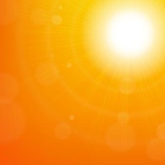 Rozbłysk słońca
