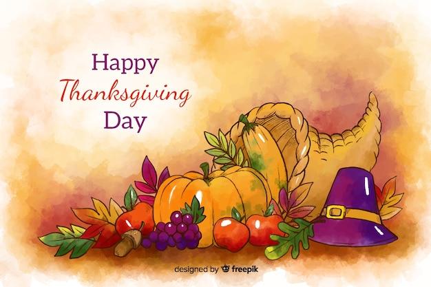 Rozmieszczenie tła żywności święto dziękczynienia
