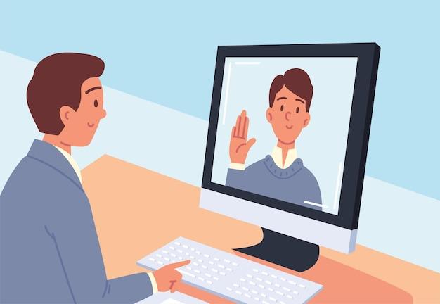 Rozmowa kwalifikacyjna online dla mężczyzn