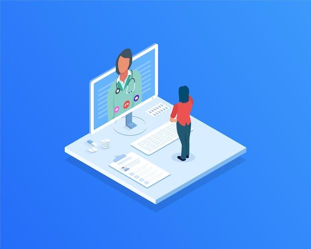 Rozmowa wideo z lekarzem