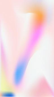 Rozmycie gradientu streszczenie tapeta mobilna wektor