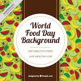 Różne owoce na dzień żywności na świecie