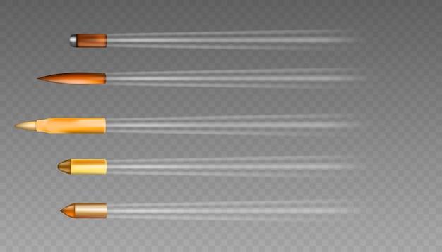 Różne rodzaje pocisków