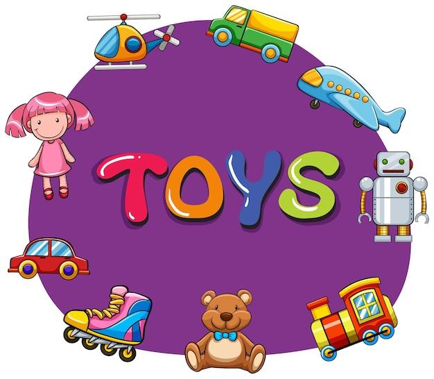 Różne rodzaje zabawek