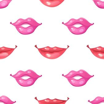 Różne wzory ust.