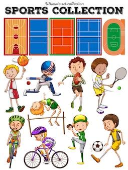 Różnego rodzaju sporty i sądy