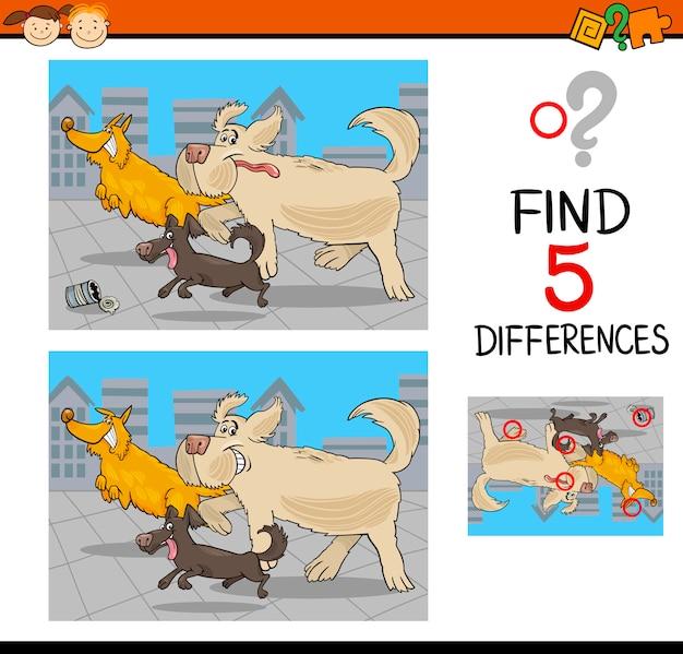 Różnice w grze edukacyjnej