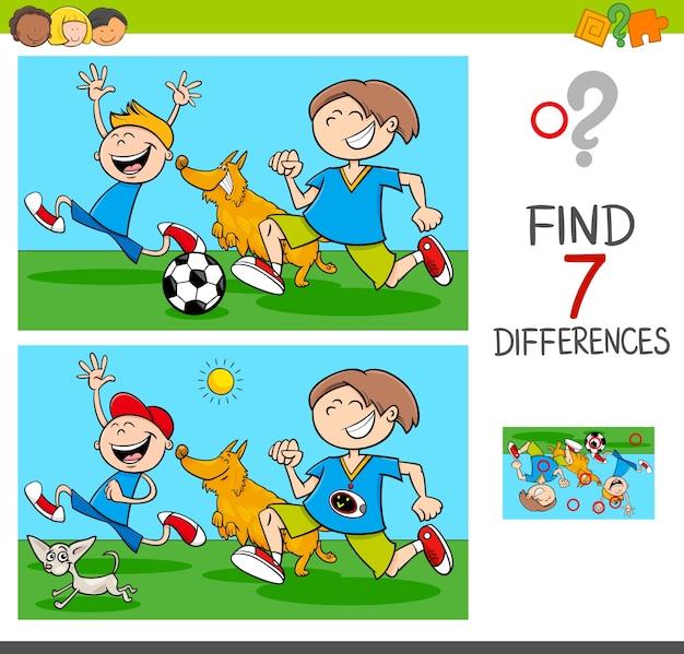 Różnice w grze z chłopcami i psami