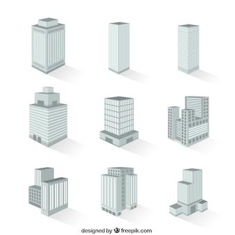 Różnorodność budynków