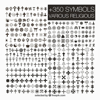 Różnorodność symboli religijnych