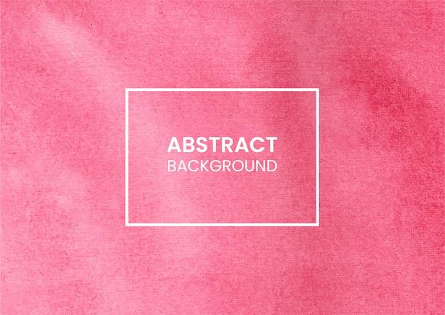 Różowa akwarela umyć teksturę tła