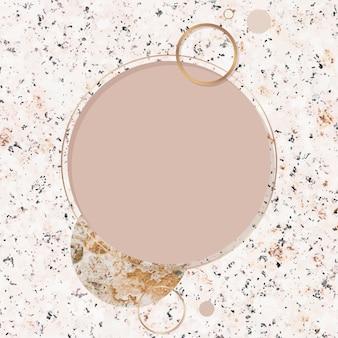 Różowa kamienna karta