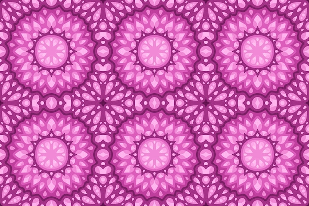 Różowa sztuka z abstrakcyjnym bezszwowym wzorem płytek
