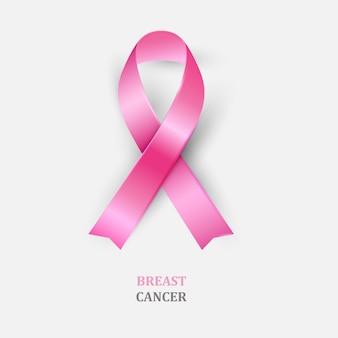 Różowa wstążka - świadomość raka piersi