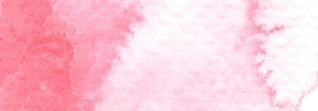 Różowe plamy na papierze strukturalnym. streszczenie tło akwarela. rozpryski kolorów na papierze.
