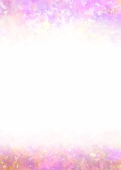 Różowe tło akwarela gradientu