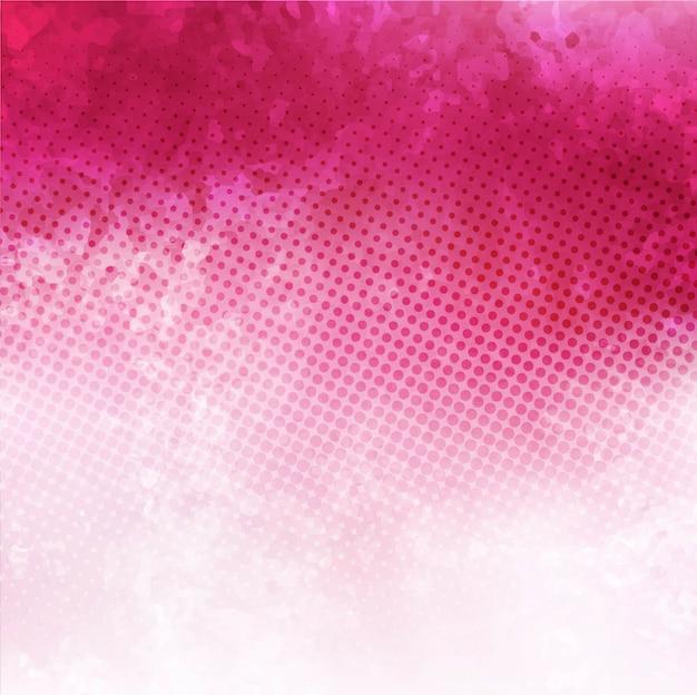 Różowe tło akwarela