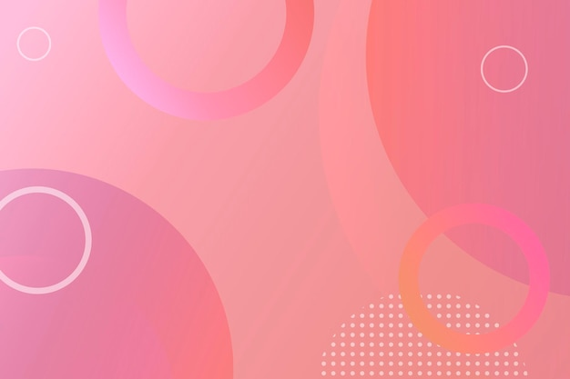 Różowe tło wzorzyste memphis