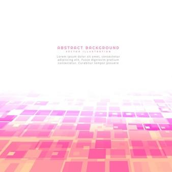 Różowy abstrakcyjne kwadraty w tle