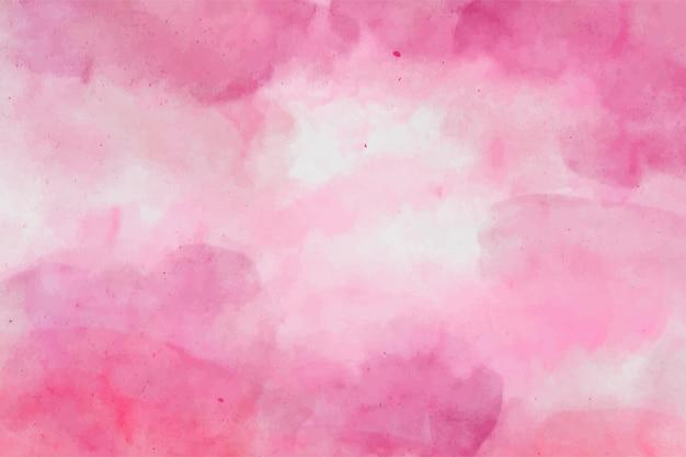 Różowy akwarela abstrakcyjne tło