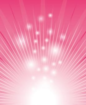 Różowy cyfrowy design.