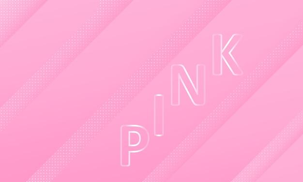 Różowy minimalne tło