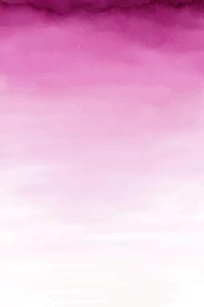 Różowy papier w tle akwarela, różowy tekstury ombre