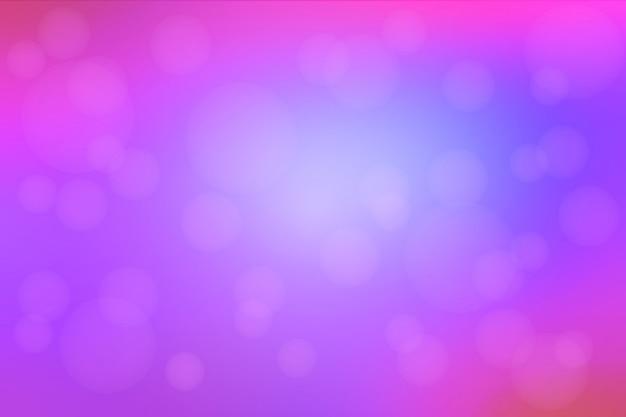 Różowy purpurowy błękitny abstrakt z bokeh światłami zamazywał tło