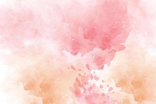 Różowy streszczenie tło akwarela