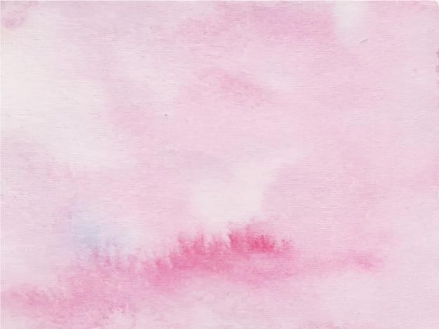 Różowy streszczenie tło akwarela.