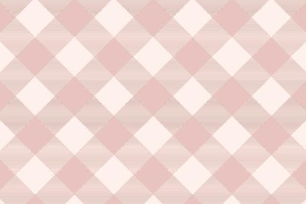 Różowy tartan wzór tła wektor szablon