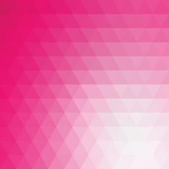 Różowy wielokątny wzór tła