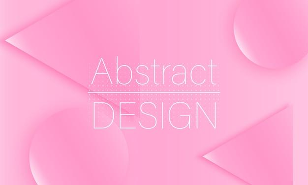 Różowy wzór. płynne kształty. ilustracja.