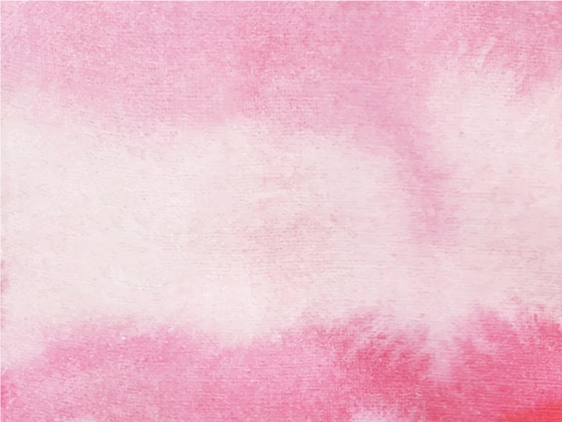 Różowy z białym streszczenie czarne tło akwarela. to jest wyciągnięta ręka.