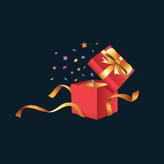 Rozpakowanie pudełka prezentowego str