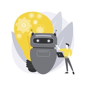Rozszerzona inteligencja. zwiększenie inteligencji, ulepszony ludzki intelekt, wsparcie umysłowe ai, wzmocnienie wydajności poznawczej, przyszłość.