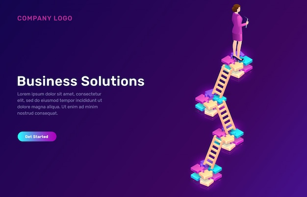 Rozwiązanie biznesowe, strategia koncepcji rozwoju