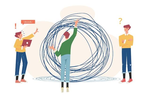 Rozwiązywanie problemów biznesowych splątane i rozwiązane
