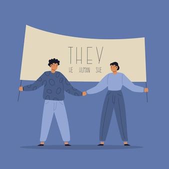 Ruch neutralny ze względu na płeć, to ludzka koncepcja