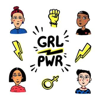 Ruch siły dziewczyny