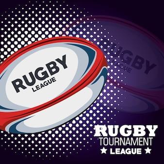 Rugby turniej liga i kropki