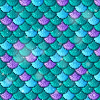Ryba tło wzór skali